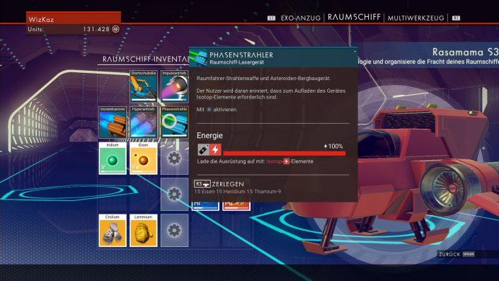 No Mans Sky - Einsteiger-Guide - Raumschiff