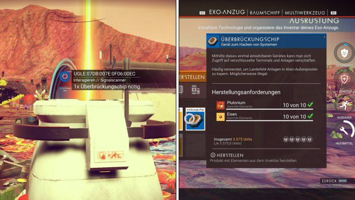 No Man's Sky - Planeten erkunden auch ohne Karte - Signalscanner benutzen