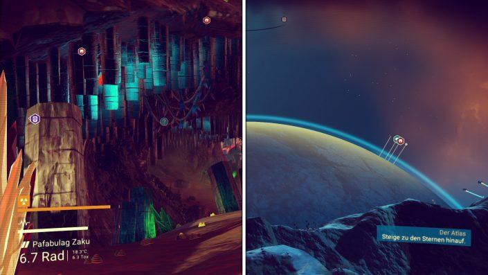 No Man's Sky - Planeten erkunden auch ohne Karte - Wichtige Orte
