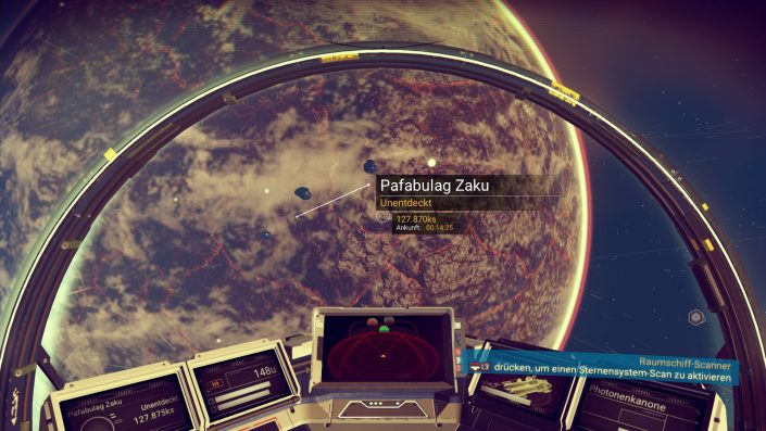 No Man's Sky - Planeten erkunden auch ohne Karte - unentdeckter Planet