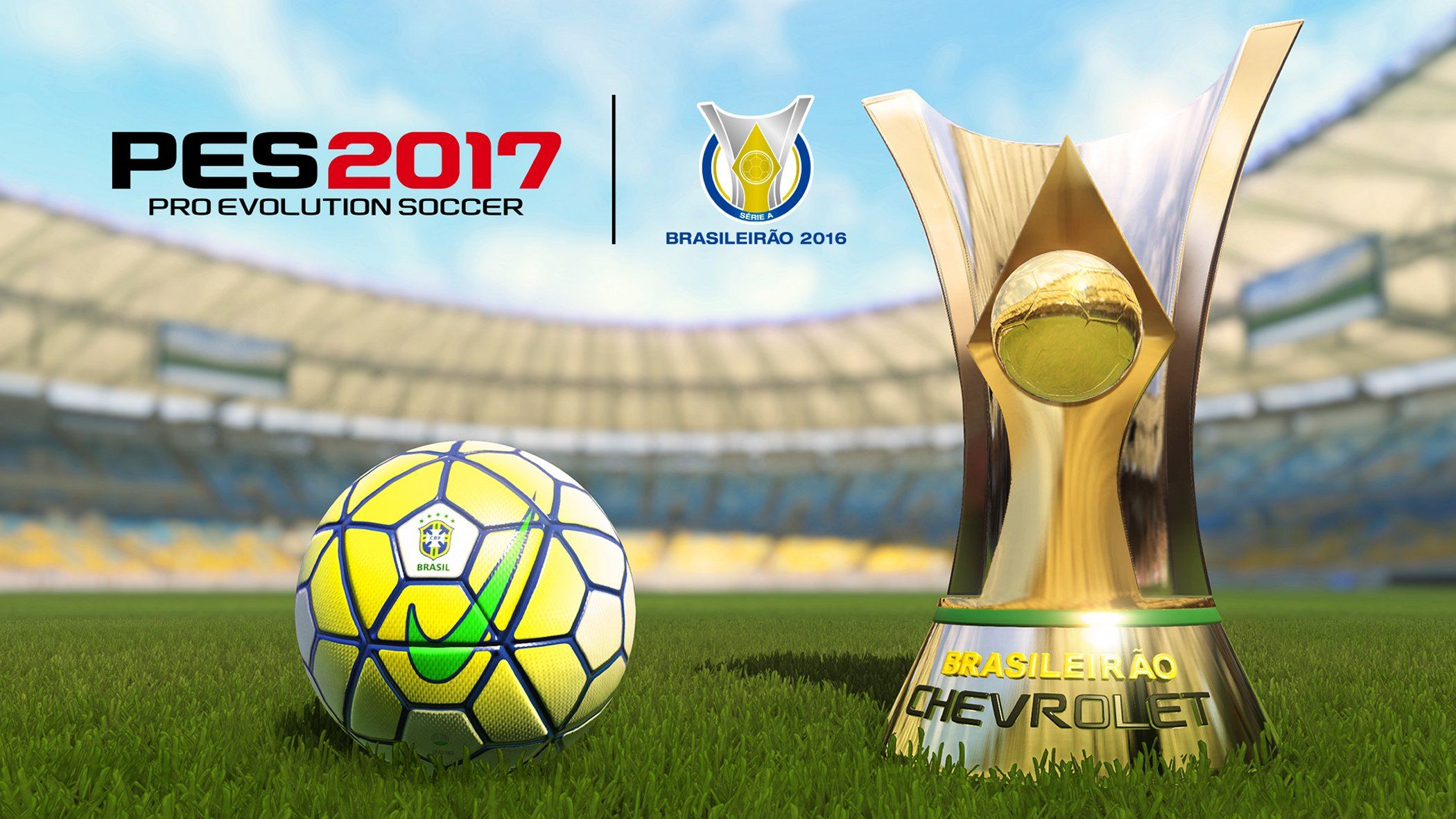 Pro Evolution Soccer 2017 - Partnerschaft mit nationalem Fußballverband Brasiliens