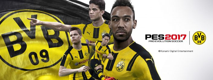 pes2017 bvb announcement visual. Black Bedroom Furniture Sets. Home Design Ideas