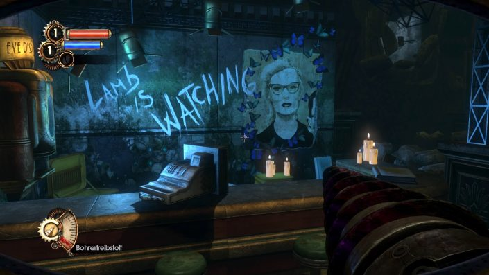 """In """"BioShock 2"""" kriegt ihr es mit Bösewicht Sofia Lamb zu tun."""