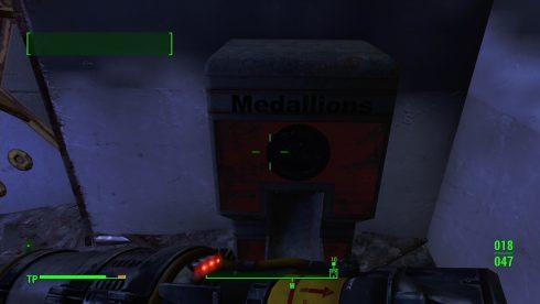 Fallout 4 - Nuka-World - Park-Medaillons - Galactic Zone
