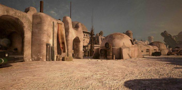 EA arbeitet an einem Star Wars Open-World-Titel