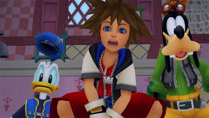 Das Final Fantasy VII Remake und Kingdom Hearts III haben noch einen weiten Weg vor sich