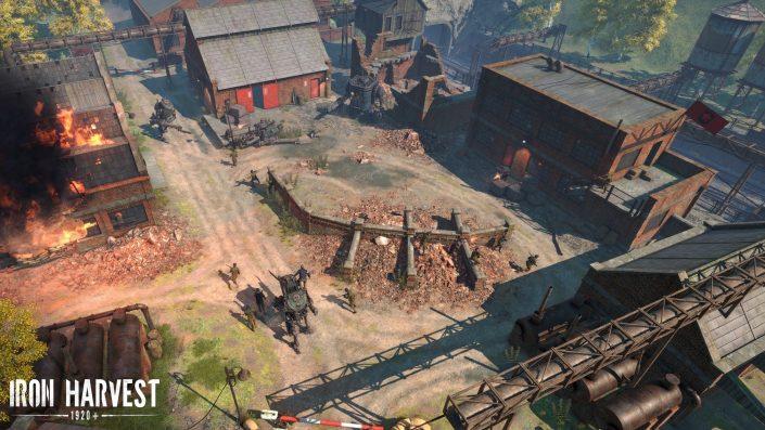 Iron Harvest: Kickstarter-Kampagne für den Dieselpunk-Echtzeit-Strategietitel in weniger als zwei Tagen am Ziel
