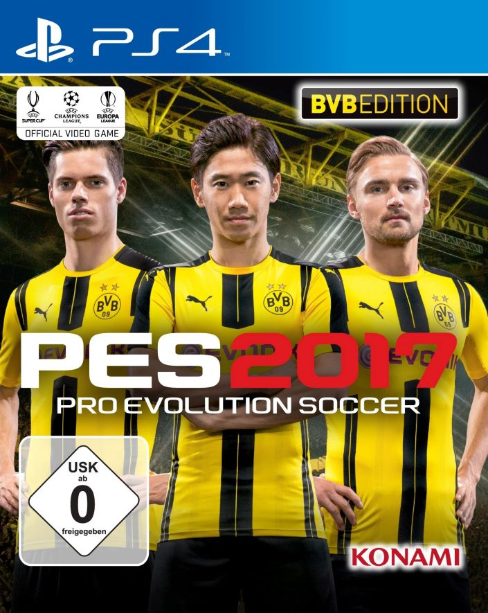 pes 2017 bvb edition ver ffentlicht. Black Bedroom Furniture Sets. Home Design Ideas