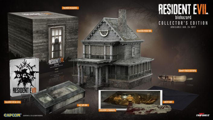Resident Evil 7: Collector's Edition im Unboxing-Video
