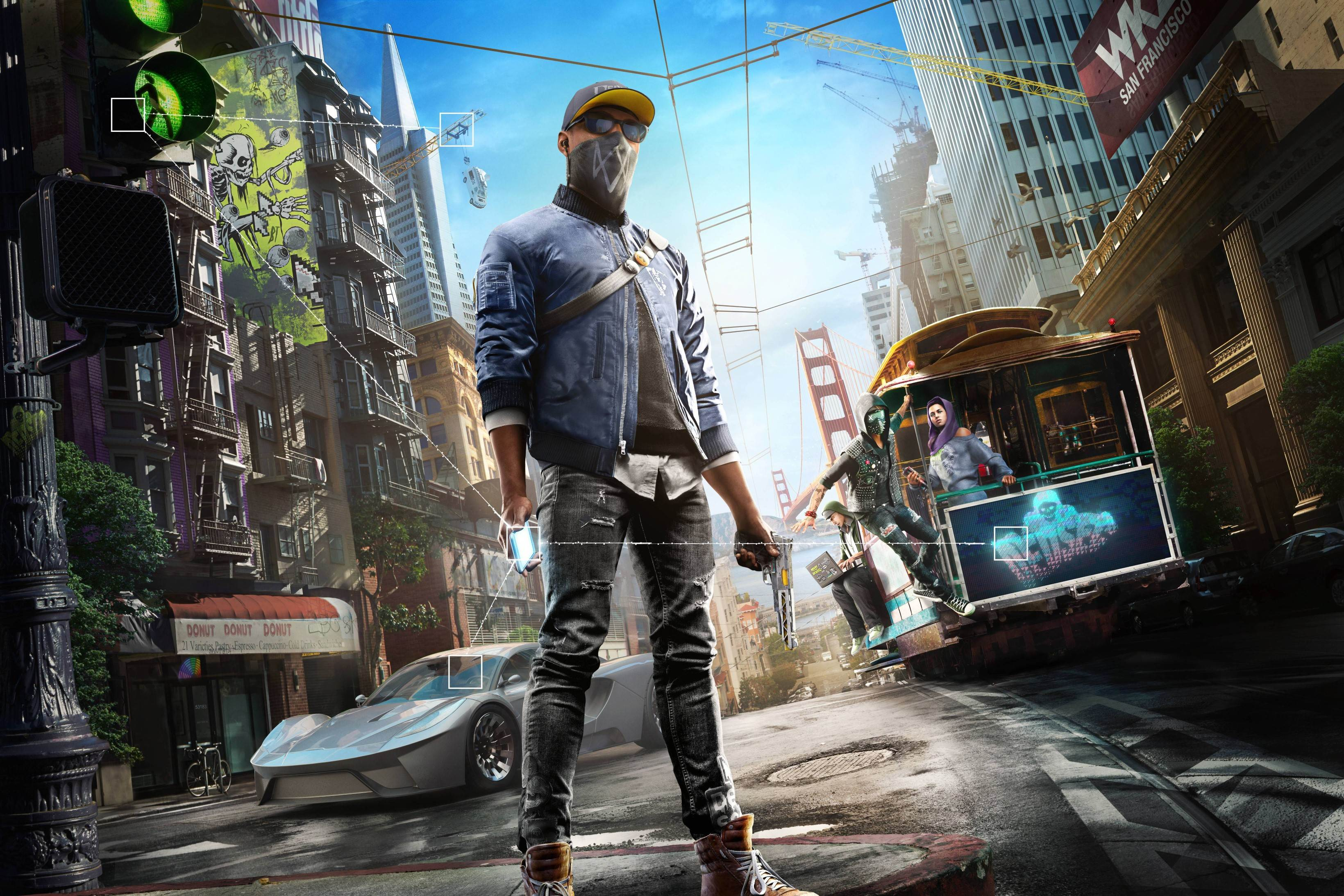 Marcus Holloway From Watch Dogs