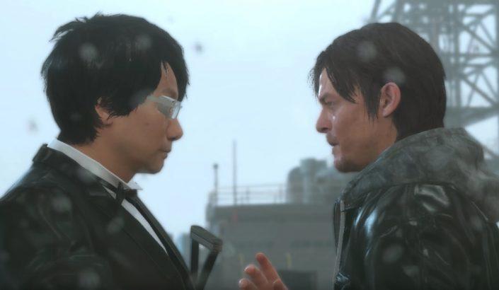 MGS V: Hideo Kojima und Norman Reedus tanzen im Regen – das muss man gesehen haben