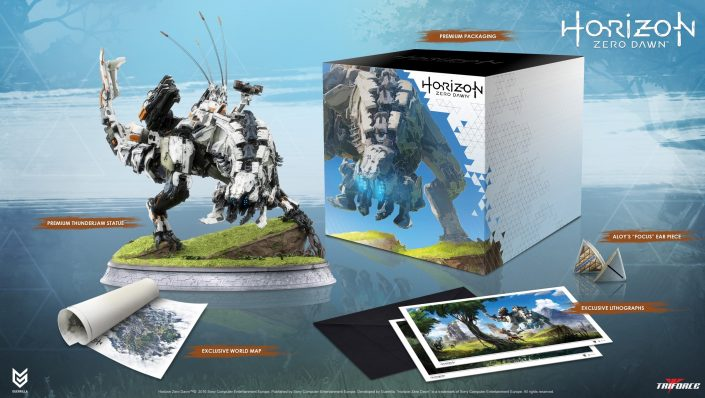 Horizon Zero Dawn Thunderjaw Collection