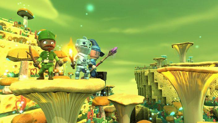 Portal Knights - PS4 Screenshot 02