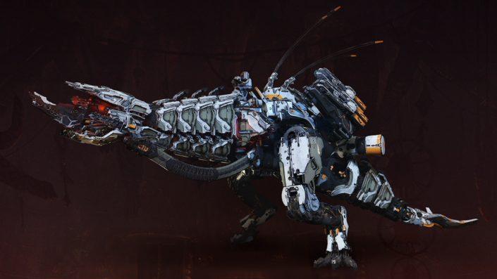 Horizon - Zero Dawn - Alle Maschinen - Donnerkiefer