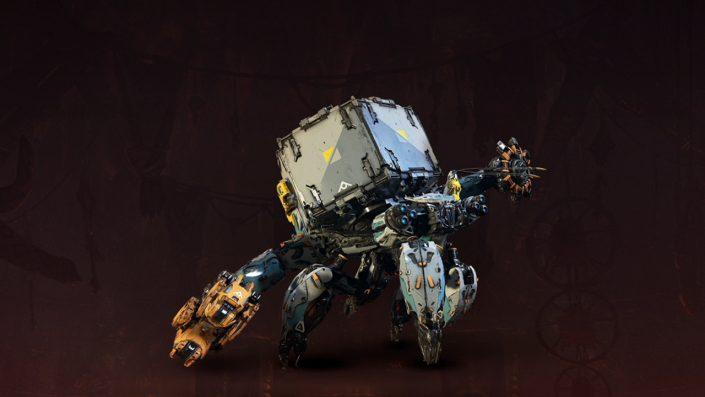 Horizon - Zero Dawn - Alle Maschinen - Panzerwanderer