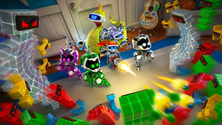Astro's Playroom: Das PS5-Adventure in Gameplay-Videos