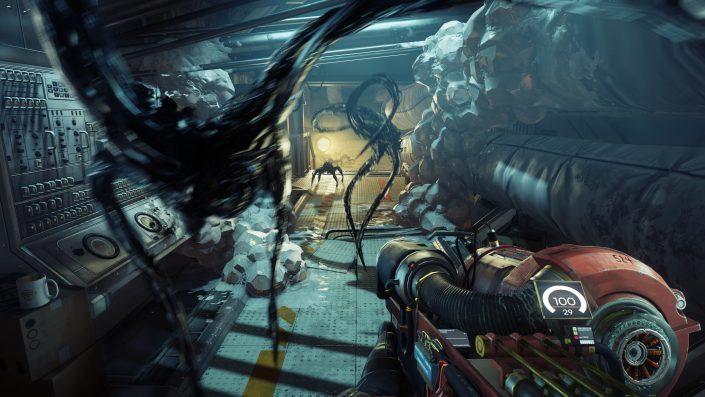 Prey: Massig Gameplay aus dem Sci-Fi-Shooter