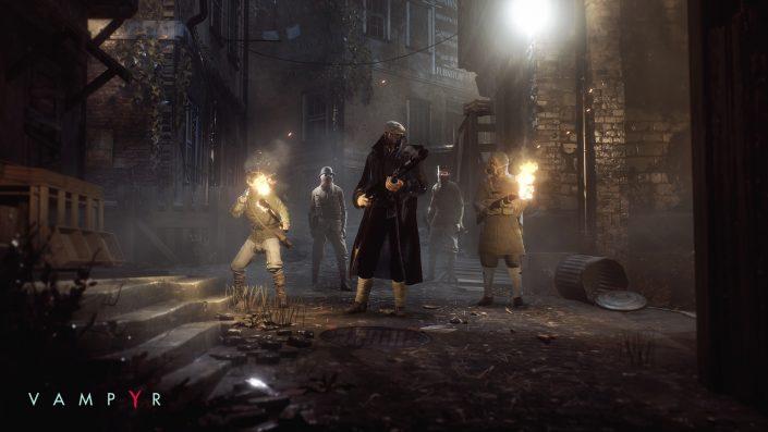 Vampyr: Dontnod bestätigt guten Verkaufsstart des Action-Rollenspiels