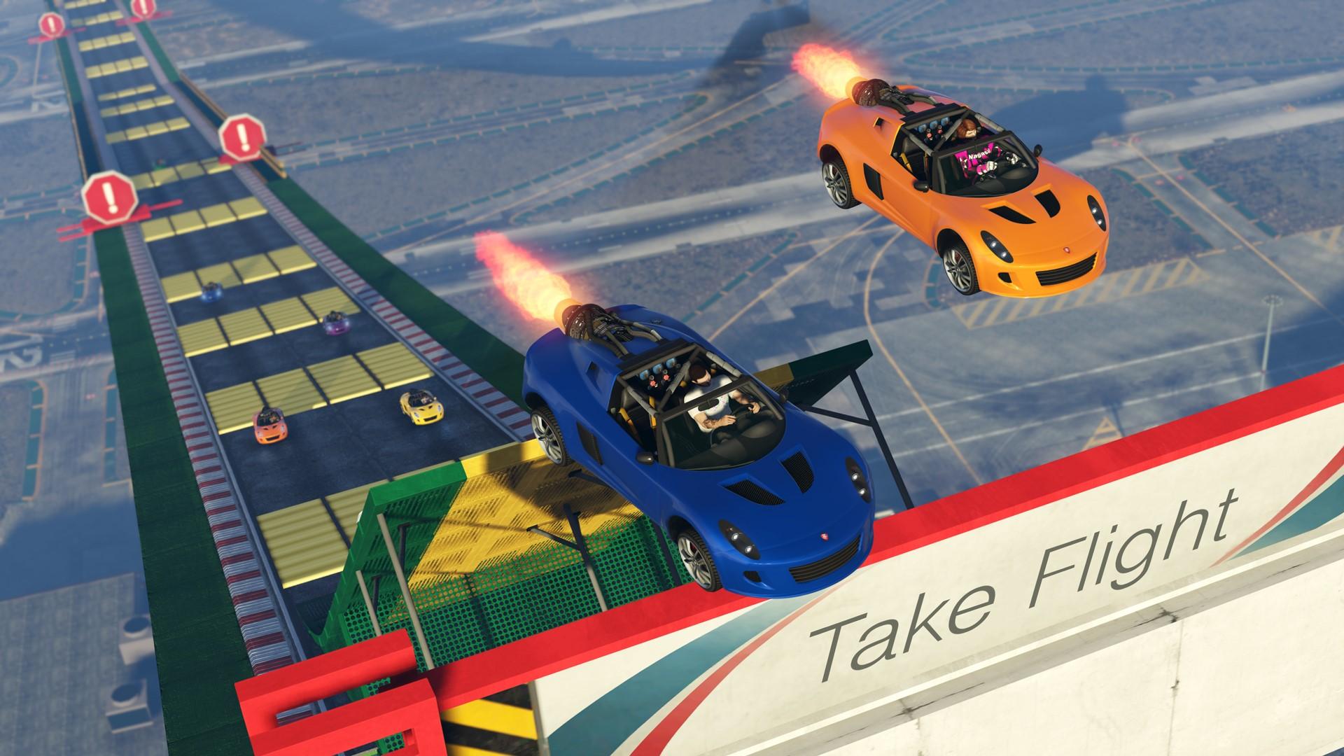 GTA 5: Rockstar Games kündigt neuen Renn-Modus an