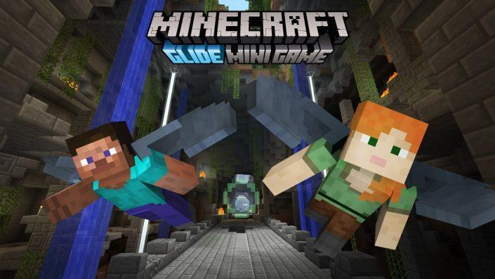 Minecraft GleiterMinispiel Mit Trailer Vorgestellt Playde - Minecraft ps4 minispiele