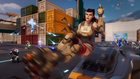 Agents of Mayhem - PS4 Screenshot 02