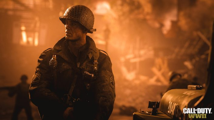 Call of Duty WWII bleibt in UK-Charts in der sechsten Woche in Führung
