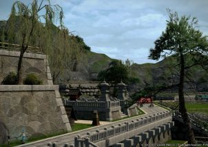 FINAL FANTASY XIV STORMBLOOD Residential Area Shirogane (3)