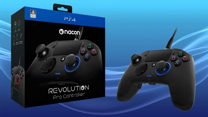 PS4 - Nacon Revolution Pro Controller - Test