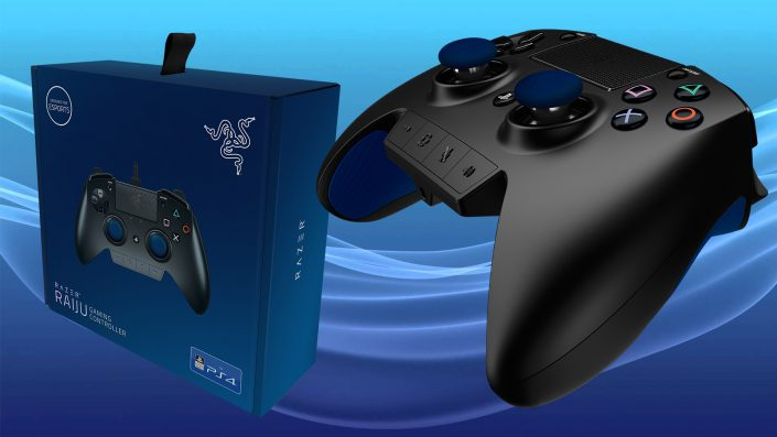 PS4 - Razer Rajiu Gaming Controller - Test 03