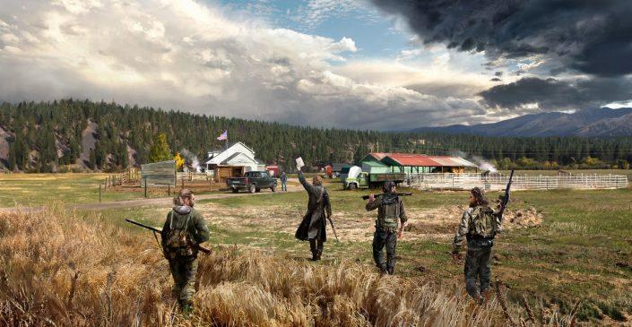 """Far Cry 5: Neue Details und Trailer zum """"Freunde auf Abruf""""-Koop-Modus"""