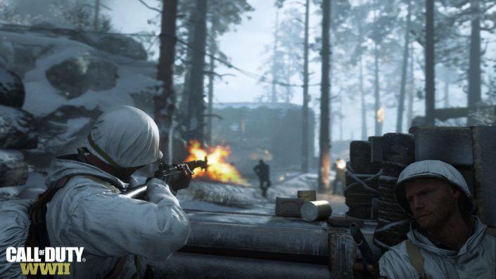 Call Of Duty: WWII – Trailer bietet ersten Blick auf das Hauptquartier und mehr Multiplayer-Gameplay