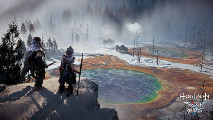 Horizon Zero Dawn: The Frozen Wilds – Der erste DLC ist groß und enthält neue Trophäen