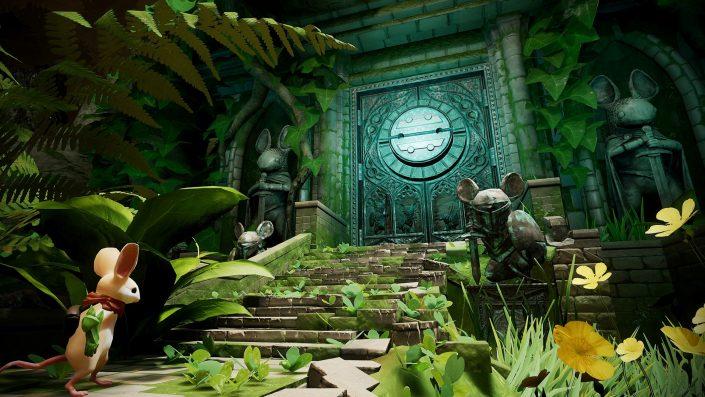 Moss: Neues Update mit Grafikverbesserung und weiteren Features für das PSVR-Abenteuer angekündigt
