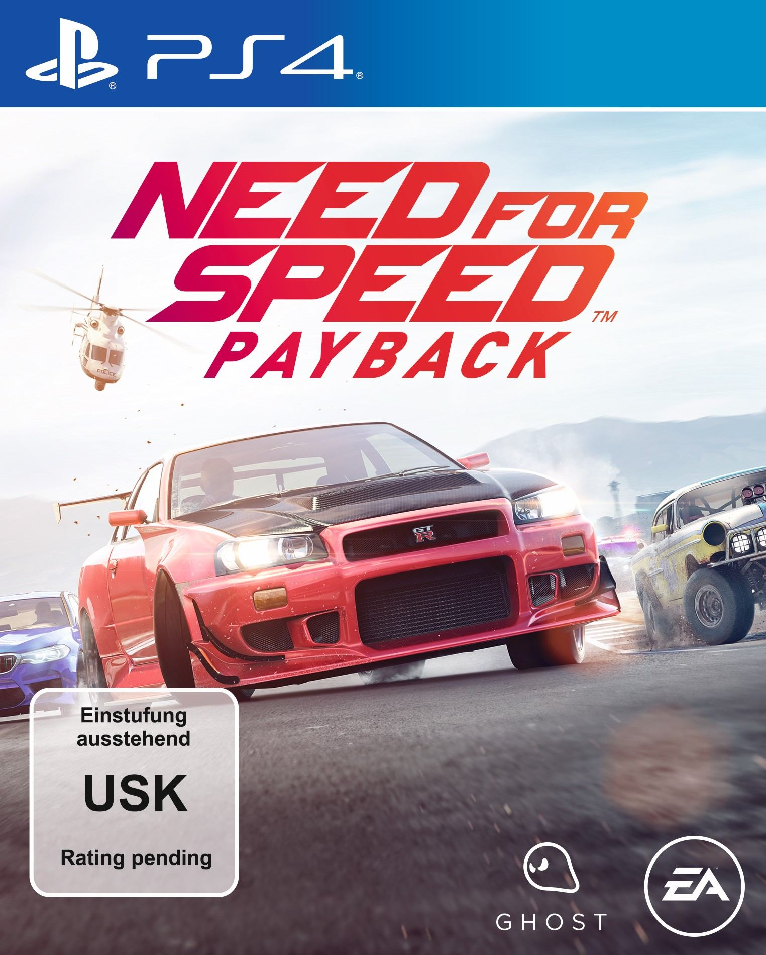 need for speed payback ps4 packshot. Black Bedroom Furniture Sets. Home Design Ideas