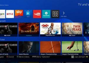 PS4 TV- und Video-Erlebnis