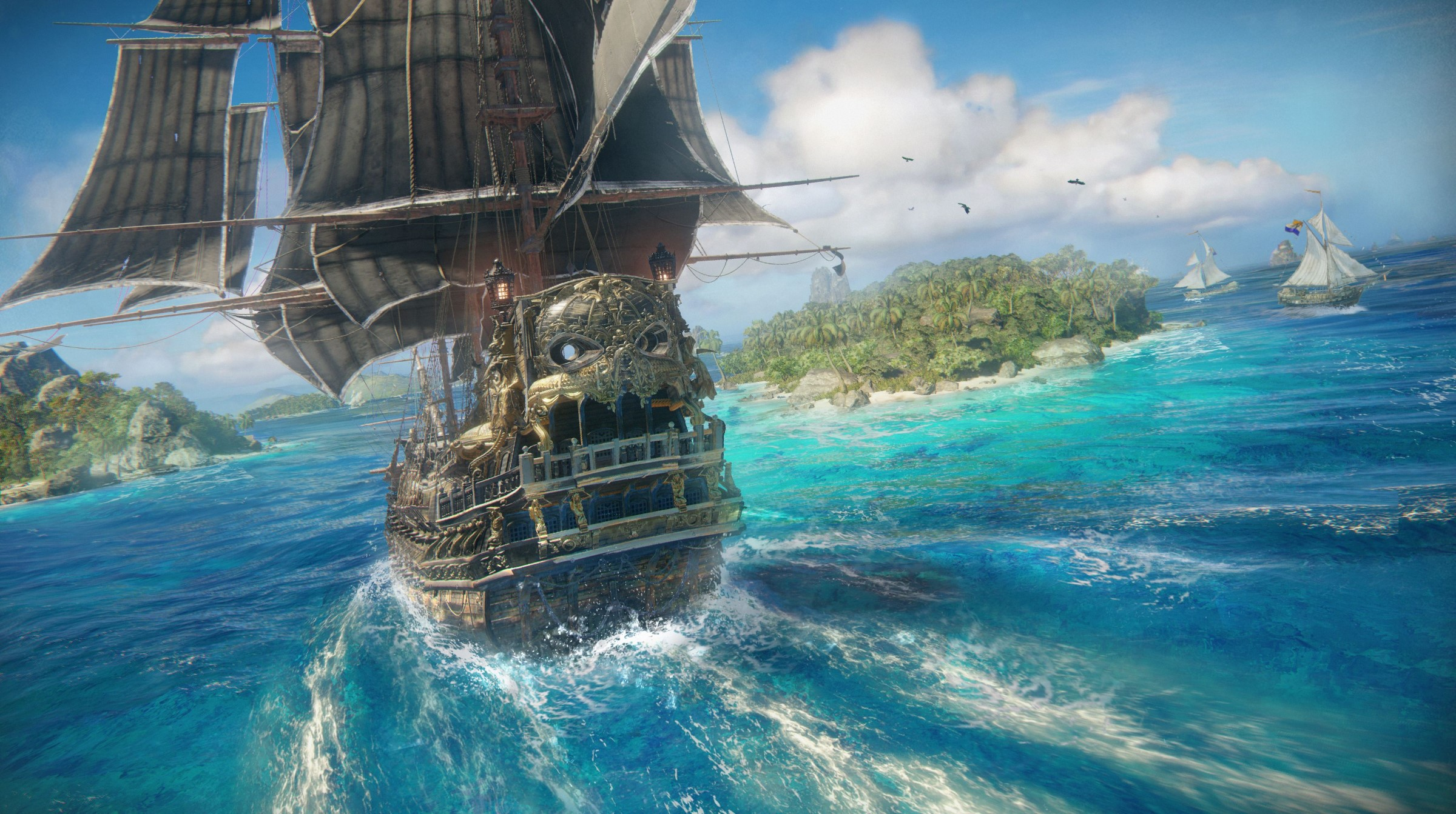 Skull & Bones: Das Piraten-Abenteuer verschiebt sich auf das nächste Geschäftsjahr