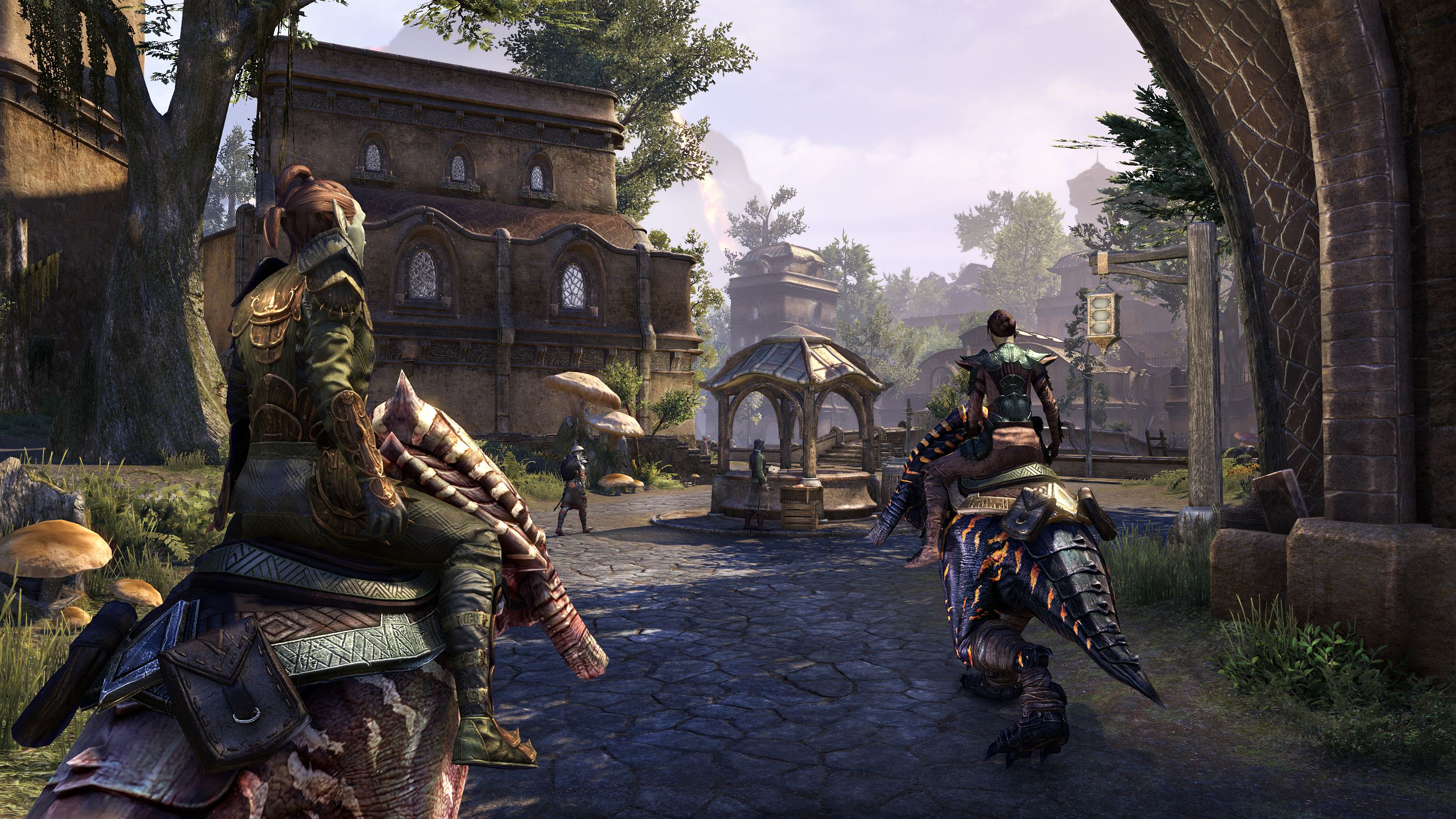 how to get a mount on elder scrolls online