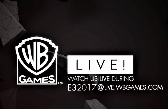 E3 2017: Warner Bros Games Live! – E3-Streaming-Events, Lineup und Termine angekündigt