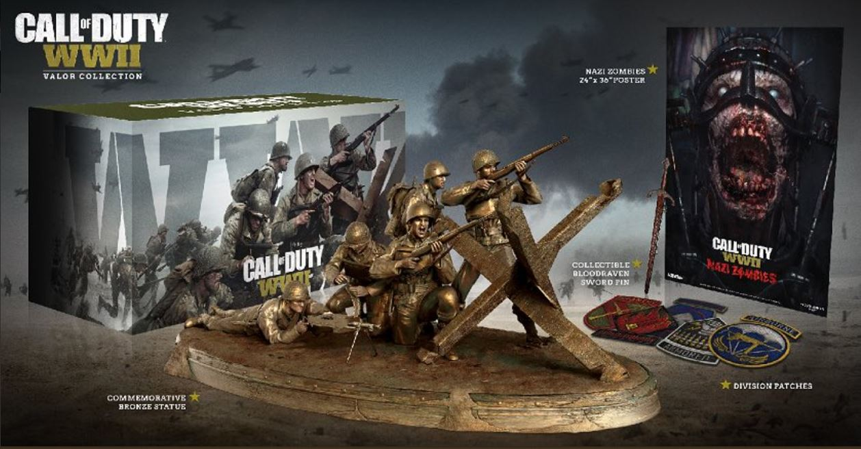 Call of Duty: WW2: Valor Collection mit