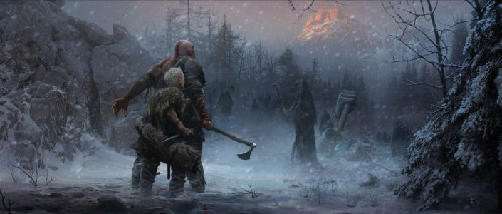 God of War Concept Art (2)