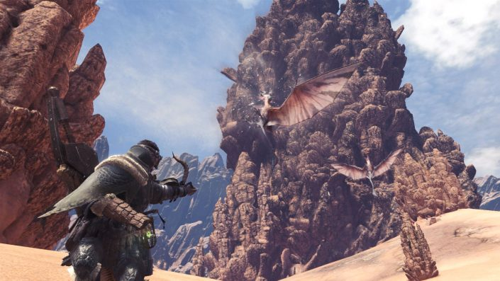 Monster Hunter World - Die Wildturm-Ödnis Wildlands_Waste_Screen_002_Noios_15029849652