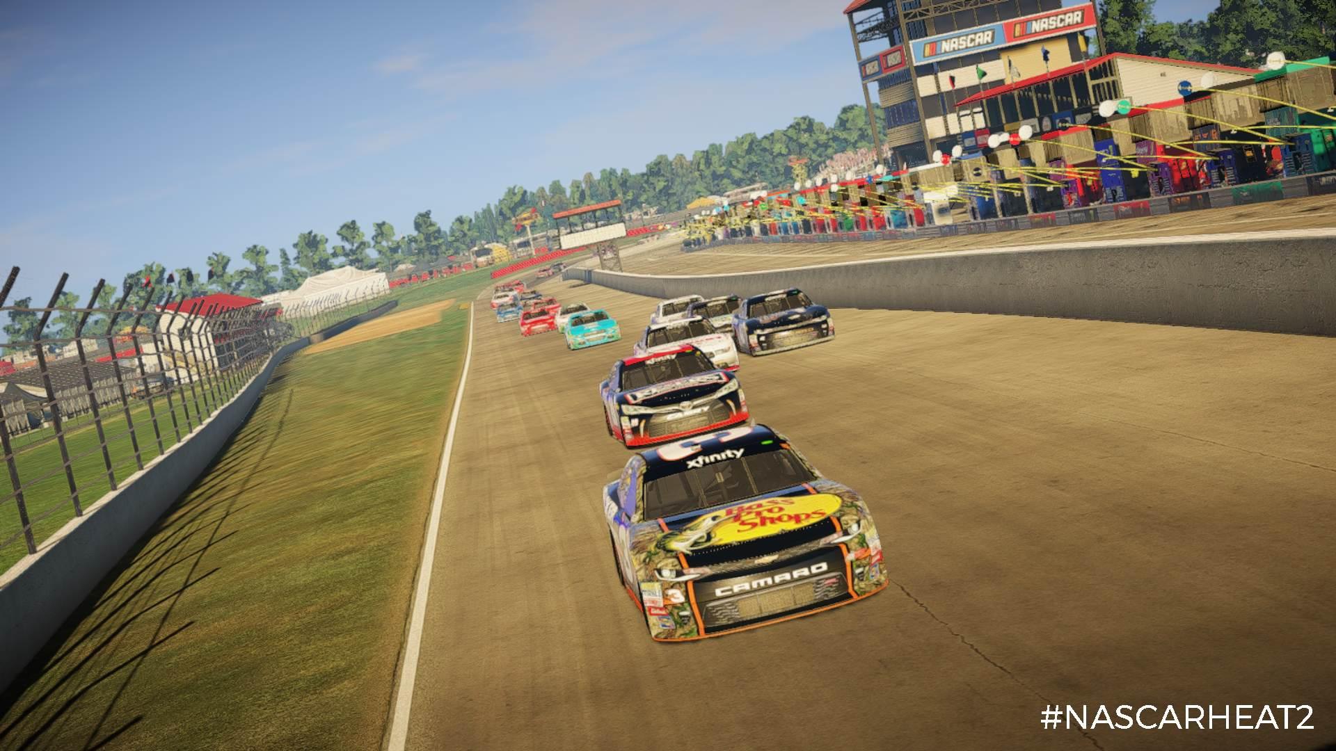 NASCAR Heat 2: Karrieremodus, Rivalitäten, neue Strecke ...