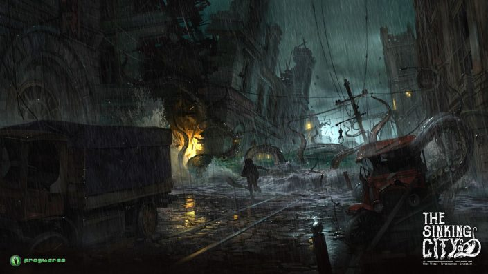The Sinking City: Video zeigt 15 Minuten aus dem düsteren Action-Horror-Abenteuer