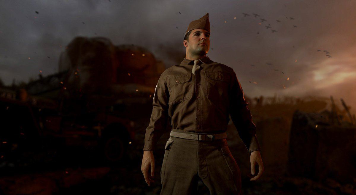 call of dudty wwii uniforms how to change