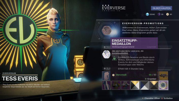 Destiny 2 - Guide - Glänzende Engramme - 01