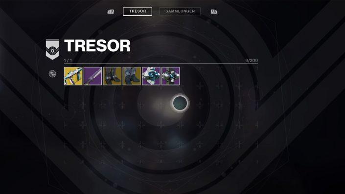 Destiny 2 - Guide - Waffen- und Rüstungsrecyling - Tresor und Loot sinnvoll nutzen - 002