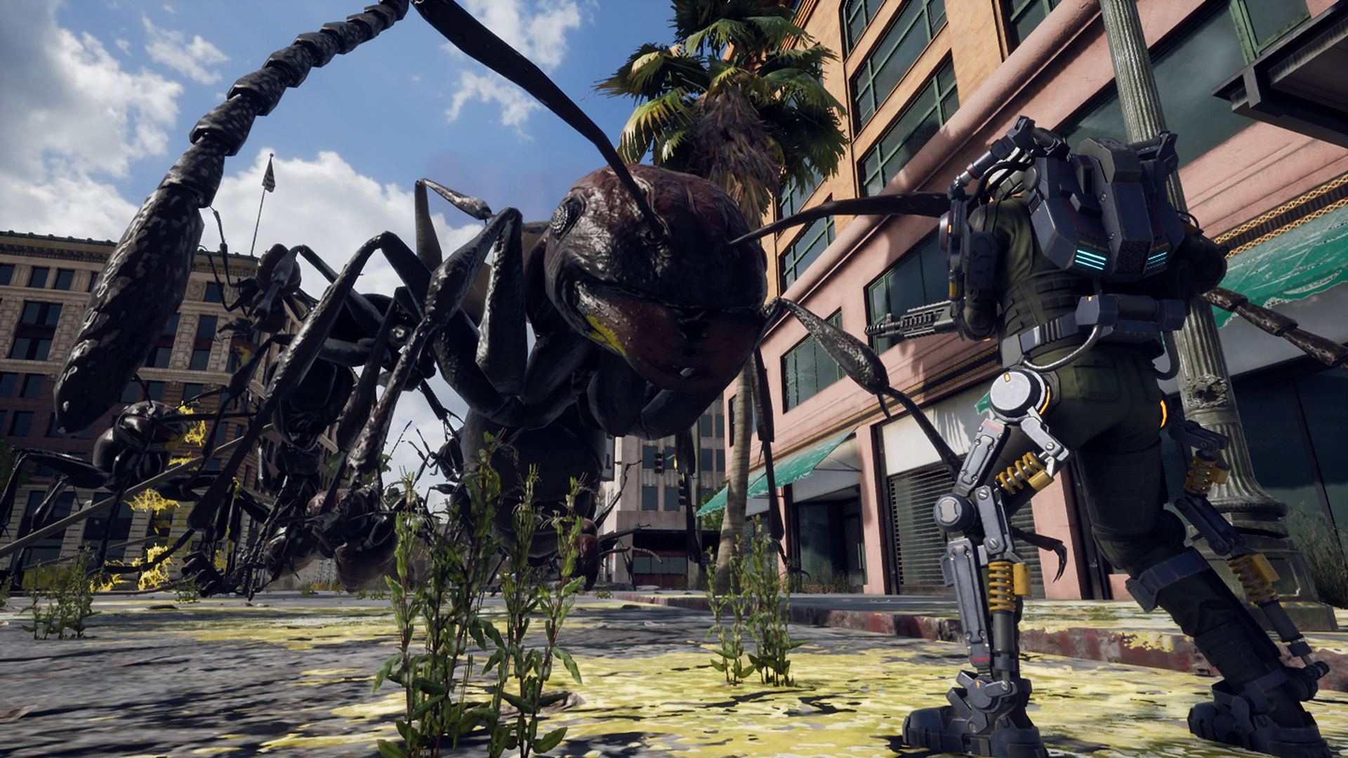 Earth Defense Force: Iron Rain angekündigt, Gameplay und Termin für EDF 5