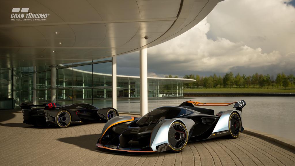 Gran Turismo Sport: Neuer GT Vision Rennwagen von McLaren ...