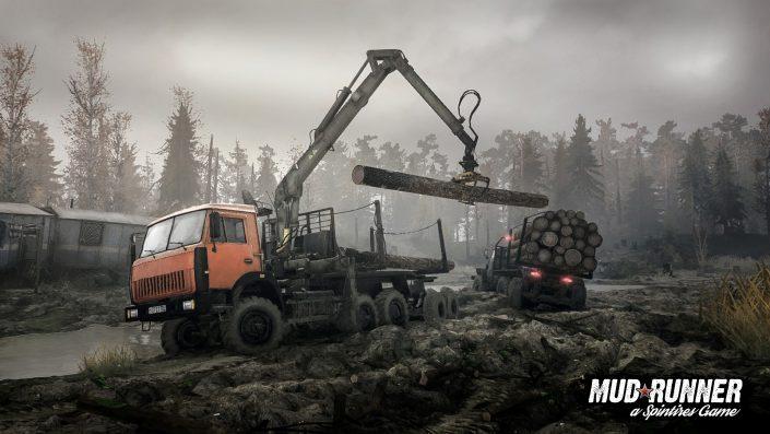 """Spintires MudRunner: Kostenloser DLC """"The Valley"""" ab heute für die Offroad-Simulation verfügbar"""