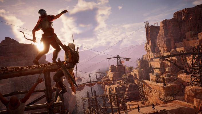 Assassin's Creed Origins übernimmt Führung der UK-Charts